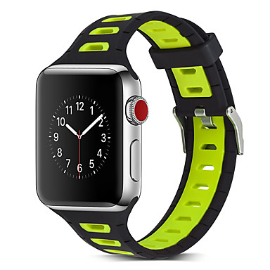 رخيصةأون أساور ساعات هواتف أبل-حزام إلى أبل ووتش سلسلة 5/4/3/2/1 Apple بكلة كلاسيكية سيليكون شريط المعصم