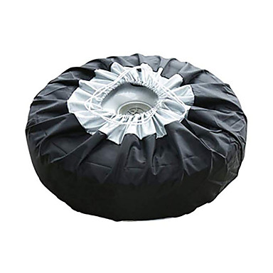 olcso Autóvédők-gumiabroncs burkolat esetén az autó tartalék gumiabroncs burkolat tároló táska hordtáska poliészter gumiabroncs védőburkolattal rendelkezik