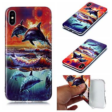 Недорогие Кейсы для iPhone 7 Plus-чехол для яблока iphone xs iphone xs max чехол для телефона материал тпу imd окрашенный чехол для iphone xr x 7 плюс 8 плюс 7 8 6 плюс 6 с плюс 6 6 с 5 5 с