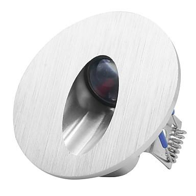 رخيصةأون LED وإضاءة-1 قطعة 3 واط راحة أدى درج ضوء ac85-265v / dc12v داخلي أضواء الجدار خطوة خطوة مصباح الديكور مدخل الدرج مصابيح