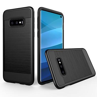 olcso Samsung tartozékok-Case Kompatibilitás Samsung Galaxy Galaxy S10e Porálló / Jeges Fekete tok Egyszínű PC