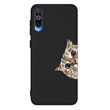 voordelige Galaxy A-serie hoesjes / covers-hoesje voor Samsung Galaxy A6 (2018) / A6 Plus / A7 (2018) Schokbestendig / Mat / Patroon Achterkant Kat TPU Soft voor Galaxy A10 / A20 / A30 / A20E / A40 / A50 / A70 / A80 / A8 2018 / A9 2018 / a5