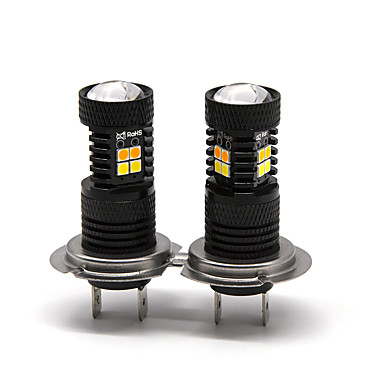 voordelige Automistlampen-Otolampara 2 stks 16 w 1400lm dual kleuren spot lichtheid h7 led-lampen