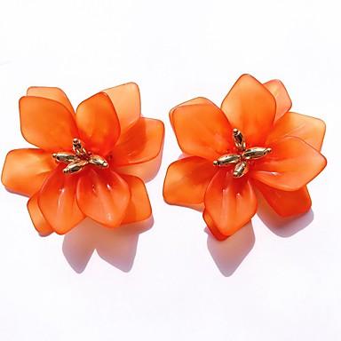 povoljno Naušnice-Žene Sitne naušnice Cvijet Stilski Smola Naušnice Jewelry Obala / žuta / Plava Za Dnevno 1 par