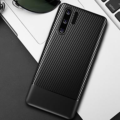povoljno Maske/futrole za Huawei-kutija za ugljična vlakna mekana tpu telefon slučaj za huawei p30 pro p30 lite p30 p20 pro p20 lite p20 slučajevi pokriti silikon