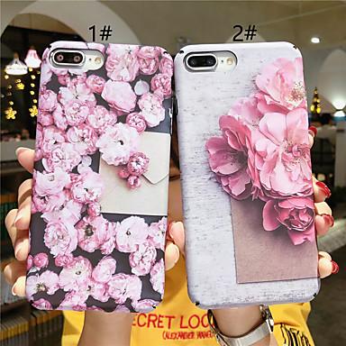 Недорогие Кейсы для iPhone-чехол для яблока iphone xr / iphone xs max рисунок / светящиеся в темноте задняя крышка цветок / слово / фраза жесткий компьютер для iphone x xs 8plus 8 7plus 7 6 6s 6plus 6splus