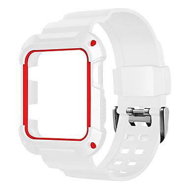 Недорогие Ремешки для Apple Watch-ремешок для часов для apple watch series 3/2/1 apple sport band силиконовый ремешок на запястье