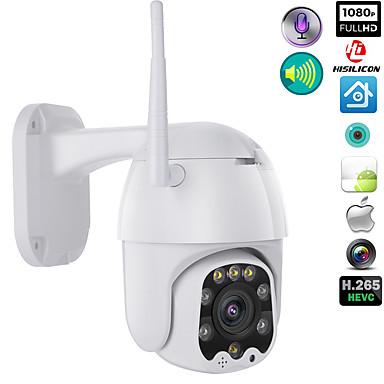 رخيصةأون كاميرات المراقبة IP-1080 وعاء wifi اللاسلكية ptz cmos ip كاميرا h.265x سرعة قبة cctv ip66 للماء اتجاهين الصوت للرؤية الليلية الوصول البعيد كاميرات الأمن wifi الخارجية 2mp ir المنزل ...