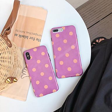 voordelige iPhone-hoesjes-hoesje Voor Apple iPhone XS / iPhone XR / iPhone XS Max Stofbestendig / IMD / Patroon Achterkant Geometrisch patroon / Cartoon TPU