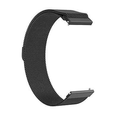cheap Watch Bands for Huawei-Watch Band for 18MM / 20MM / 22MM Milanese Loop Stainless Steel Wrist Strap