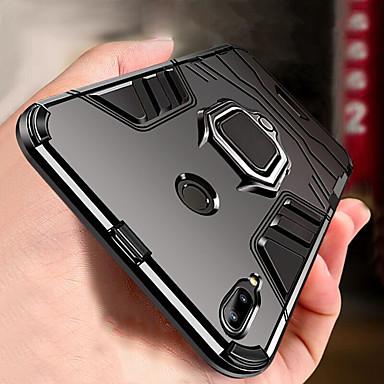 Недорогие Чехлы и кейсы для Xiaomi-броня кольцо подставка чехол для xiaomi redmi note 7 note 7 pro противоударный чехол чехол redmi 7 note 6 pro note 6 note 5 pro redmi note 5 redmi 6 pro redmi 6 redmi 5 плюс мягкий силиконовый чехол