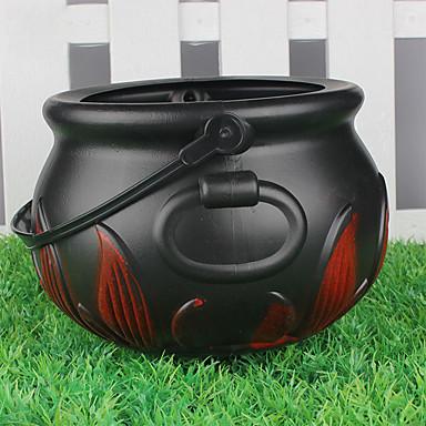 povoljno Dekoracija doma-Yiwu pho_05zd festival prijenosni vještica plamen bombona staklenka crna