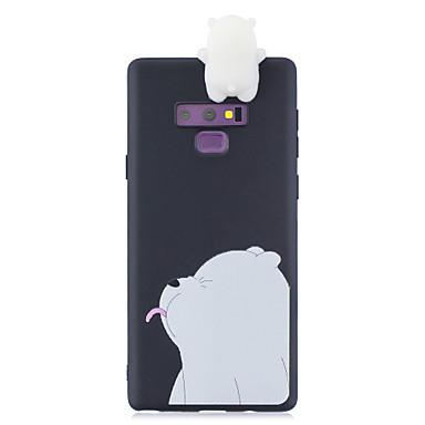 Недорогие Чехлы и кейсы для Galaxy Note-чехол для samsung note 9 3d мультфильм прекрасный цветной окрашенный мягкий тпу задняя крышка нескользящая противоударный полный защитный чехол