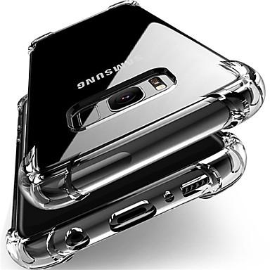 hoesje Voor Samsung Galaxy J7 (2017) / J7 / J5 (2017) Schokbestendig / Stofbestendig Achterkant Transparant Zacht TPU