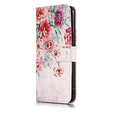 voordelige Galaxy A-serie hoesjes / covers-hoesje Voor Samsung Galaxy A5 (2017) Schokbestendig / Stofbestendig / Flip Volledig hoesje Landschap / Cartoon Hard PU-nahka