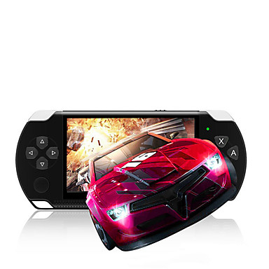 cheap Video Game Accessories-PSP3000 Game Console Built in 1 pcs Games 4.1 inch inch Portable / Creative / New Design
