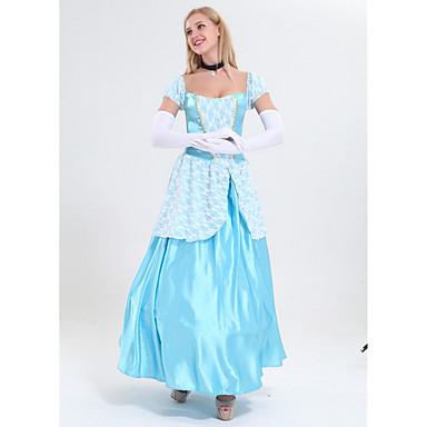 cheap Latin Dancewear-Princess Costume Women's Fairytale Theme Halloween Performance Cosplay Costumes Theme Party Costumes Women's Dance Costumes Polyester Lace