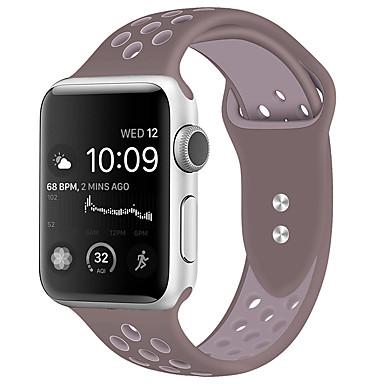 voordelige Smartwatch-accessoires-Horlogeband voor Apple Watch Series 5/4/3/2/1 Apple Klassieke gesp Silicone Polsband