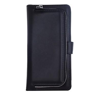 Недорогие Кейсы для iPhone 7 Plus-Кейс для Назначение Apple iPhone XS / iPhone XR / iPhone XS Max Кошелек / Бумажник для карт Кейс на заднюю панель Однотонный Твердый Кожа PU