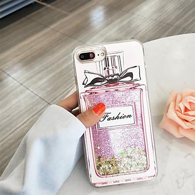 voordelige iPhone-hoesjes-case voor apple iphone xs max / iphone 8 plus vloeiende vloeistof / schokbestendig / stofdicht achterkant 3d cartoon / glitter shine zachte tpu voor iphone 7/7 plus / 8/6/6 plus / xr / x / xs
