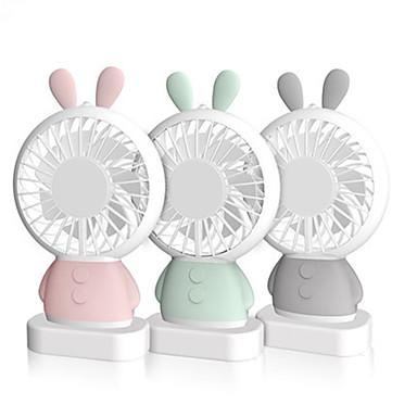 Недорогие Смарт-трекеры-Loende изысканный кролик вентилятор дхарма медведь портативный мини-вентилятор из светодиодов мультфильм красочный ночник портативный вентилятор