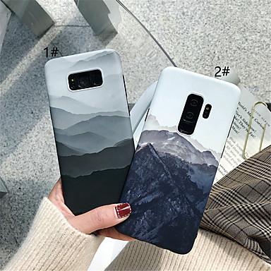voordelige Galaxy Note-serie hoesjes / covers-hoesje Voor Samsung Galaxy Note 9 / Note 8 IMD / Patroon Achterkant Landschap Zacht TPU