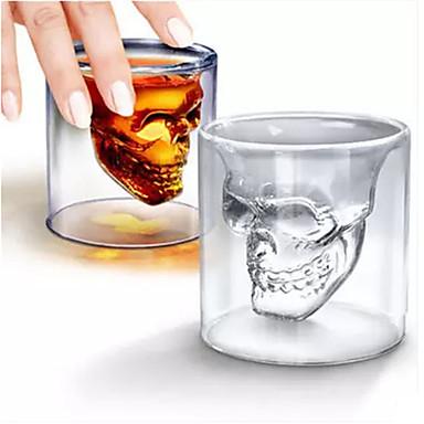 رخيصةأون كأس الحمر-DRINKWARE أواني الشرب الطريفة / زجاج زجاج مصغرة الهالووين / كاجوال / يومي