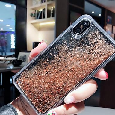 voordelige iPhone 6 hoesjes-case voor apple iphone xs max / iphone 8 plus vloeiende vloeistof / schokbestendig / stofdicht achterkant 3d cartoon / voedsel zachte silicagel voor iphone 7/7 plus / 8/6/6 plus / xr / x / xs