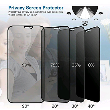 preiswerte iPhone-Displayschutzfolien-AppleScreen ProtectoriPhone XS 9H Härtegrad Vorderer Bildschirmschutz 1 Stück Hartglas / iPhone 7 plus / iPhone 6s Plus / 6 Plus / iPhone 6s / 6