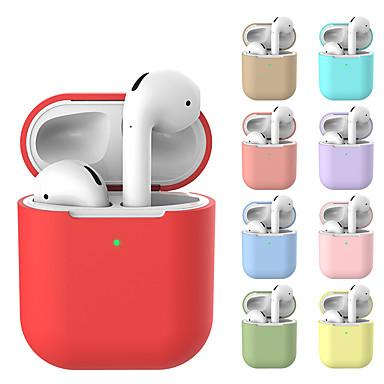 olcso Fejhallgató tartozékok-airpods tok védő szilikon bőr tartó táska almás repülőgép tartozékokhoz