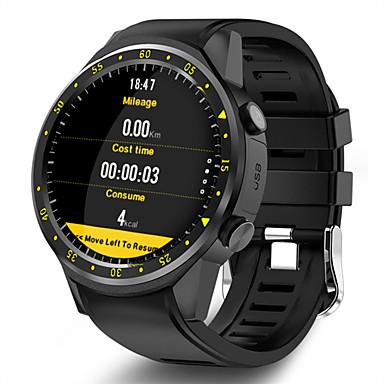 olcso Digitális karórák-Férfi Sportos óra Digitális Modern stílus Sportos Szilikon 30 m Vízálló Bluetooth Smart Digitális Alkalmi Szabadtéri - Fekete Piros Kék