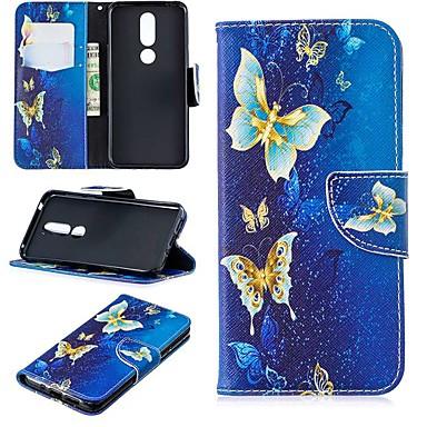 رخيصةأون Nokia أغطية / كفرات-حافظة لنوكيا 3.2 / nokia 6 2018 magnetic / flip / with stand بقضايا الجسم بالكامل