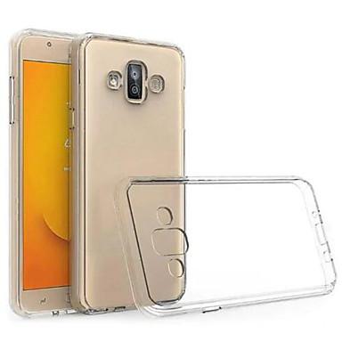 voordelige Galaxy J-serie hoesjes / covers-hoesje Voor Samsung Galaxy J5 Prime / J5 (2017) / J5 (2016) Ultradun / Transparant Achterkant Transparant Zacht TPU