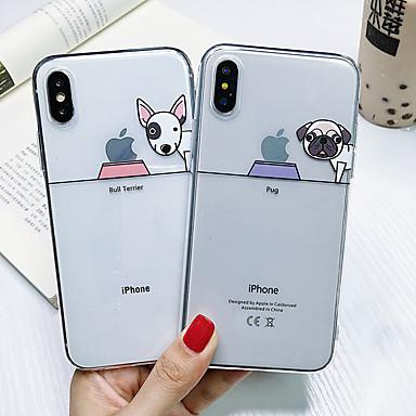 Недорогие Кейсы для iPhone-противоударный чехол для собаки tpu для apple iphone 11 pro max x xr xs max 8 plus 7 plus 6 plus se задняя крышка
