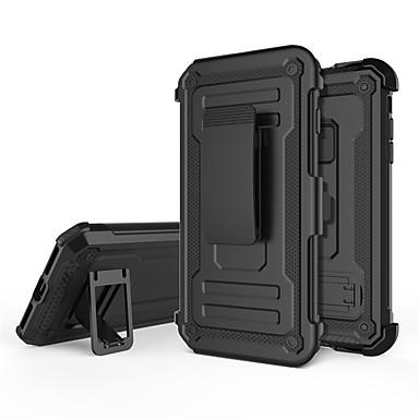 Недорогие Кейсы для iPhone 7 Plus-Кейс для Назначение Apple iPhone 8 Pluss / iPhone 7 Plus / iPhone SE (2020) Защита от удара / со стендом Кейс на заднюю панель броня ПК