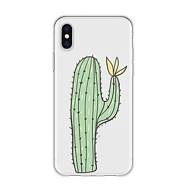 voordelige iPhone 8 hoesjes-hoesje voor iphone x xs max xr xs achterkant zachte hoes tpu simple cactus soft tpu voor iphone5 5s se 6 6p 6s sp 7 7p 8 8p16 * 8 * 1