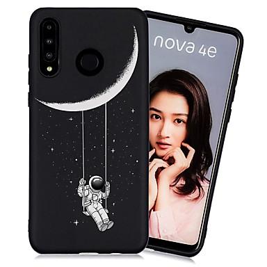 رخيصةأون Huawei أغطية / كفرات-غطاء من أجل Huawei Huawei P20 / Huawei P20 Pro / Huawei P20 lite ضد الصدمات / مثلج / نموذج غطاء خلفي سماء TPU