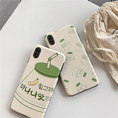Недорогие Кейсы для iPhone 6-Кейс для Назначение Apple iPhone XS / iPhone XR / iPhone XS Max Водонепроницаемый / Защита от удара / Защита от пыли Кейс на заднюю панель Мультипликация ТПУ