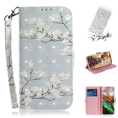 povoljno Maske za mobitele-Θήκη Za Samsung Galaxy Note 10.1 Novčanik / Utor za kartice / sa stalkom Korice Cvijet PU koža