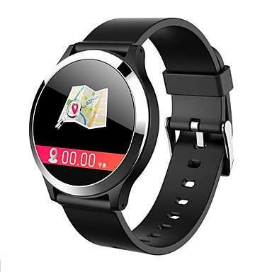 olcso Digitális karórák-Férfi Sportos óra Digitális Modern stílus Sportos Szilikon 30 m Vízálló Bluetooth Smart Digitális Alkalmi Szabadtéri - Fekete Fehér Piros