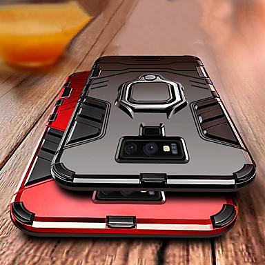 Недорогие Чехлы и кейсы для Galaxy Note-роскошный доспех кольцо подставка чехол для samsung galaxy note 9 противоударный чехол примечание 9 мягкий силиконовый чехол для автомобиля тпу