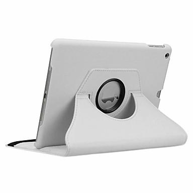 رخيصةأون iPad Pro-غطاء من أجل Apple iPad New Air (2019) / iPad Air / iPad 4/3/2 دوران360ْ / ضد الصدمات / النوم / الإيقاظ التلقائي غطاء كامل للجسم لون سادة قاسي جلد PU / iPad Pro 10.5 / iPad (2017)