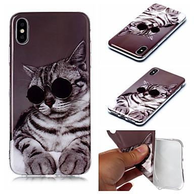 Недорогие Кейсы для iPhone X-чехол для яблока iphone xs iphone xs max чехол для телефона материал тпу imd окрашенный чехол для iphone xr x 7 плюс 8 плюс 7 8 6 плюс 6 с плюс 6 6 с 5 5 с