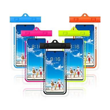 economico Custodie per iPhone-Custodia Per Apple iPhone XS / iPhone XR / iPhone XS Max Impermeabile Marsupio impermeabile Tinta unita Morbido PVC