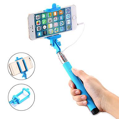 Недорогие Bluetooth палка для селфи-Палка для селфи Проводной С возможностью удлинения Максимальная длина 100 cm Назначение Android / универсальный / iOS Android / iOS Универсальный