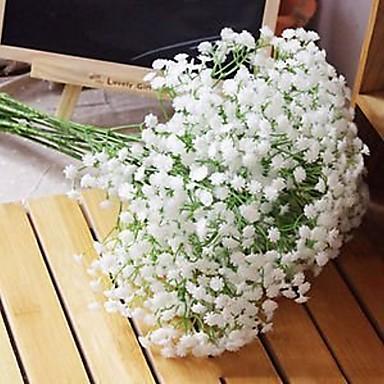 저렴한 홈 데코-인공 꽃 1 분기 클래식 현대 식물 벽 꽃