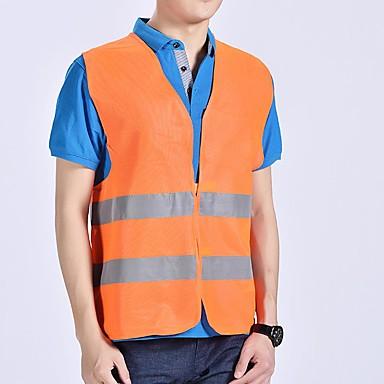 voordelige Beschermende uitrusting-motorfiets motor hoge zichtbaarheid veiligheid reflecterende vest waarschuwing vest reflecterende strepen jas