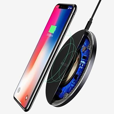 Недорогие Беспроводные зарядные устройства-Для Samsung Galaxy S8 S9 S10 плюс Ци беспроводное зарядное устройство быстрой зарядки док мат коврик