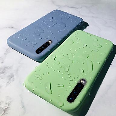 povoljno Druge maskice-Θήκη Za Huawei Huawei P20 / Huawei P20 Pro / Huawei P20 lite Otporno na trešnju Stražnja maska Jednobojni Mekano TPU / Silikon / Pamučne tkanine