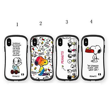 voordelige iPhone-hoesjes-hoesje Voor Apple iPhone XS / iPhone XR / iPhone XS Max Schokbestendig / Patroon Achterkant Hemel / Cartoon Zacht TPU